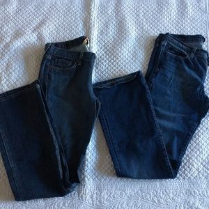 Bundle of 2 Lucky Brand jeans size 8/29